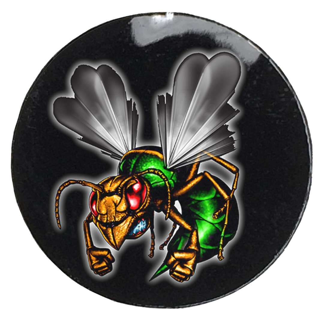 Amazon com pro tuff decals hornet award decals full color mascot award stickers 100 20 mil decals hornets sports outdoors