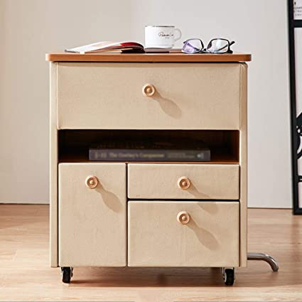 Amazon.com: GLJ Nightstand LJJL Bedside Table, Modern Minimalist ...