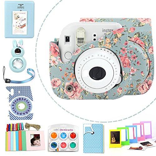 Wogozan 9 in 1 Case Accessories Package Fujifilm Instax Mini