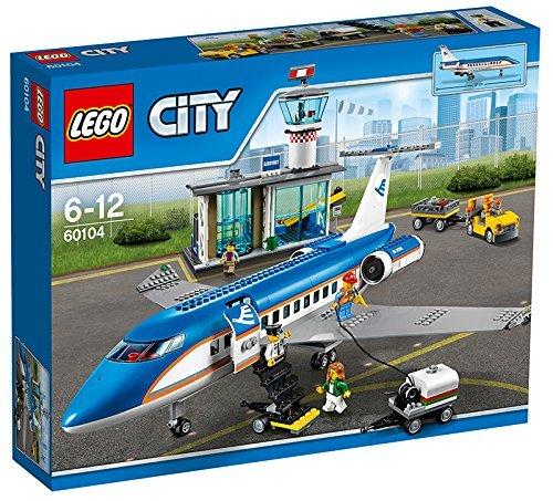 LEGO 60104 City Airport Passenger Terminal Construction Set by LEGO