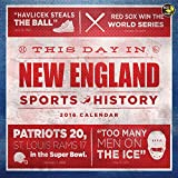 Find out what happened On This Day in New England Sports History. Learn fun facts about all your favorite New England teams! All calendar pages are printed on FSC certified paper with environmentally safe inks.