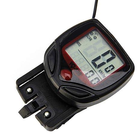Bike Bicycle Odometer Speedometer Cycling Speed Meter Waterproof 15 Function LCD
