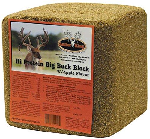 Antler King Protein Buck Block