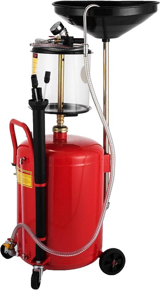 Mophorn 17 Galones / 64 L Extractor de Aceite Extractor de Garaje ...
