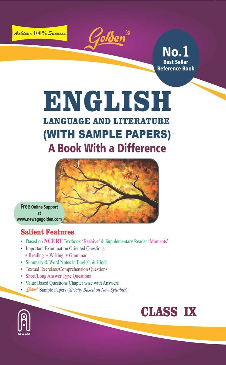 Golden English Language and Literature: A book with a Differene for Class -  9 with Sample Papers For 2019 Final Exams: Amazon.in: R.K. Gupta: Books