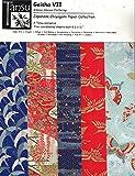 Japanese Chiyogami Papers - Geisha VII - Kimono Sleeves Fluttering