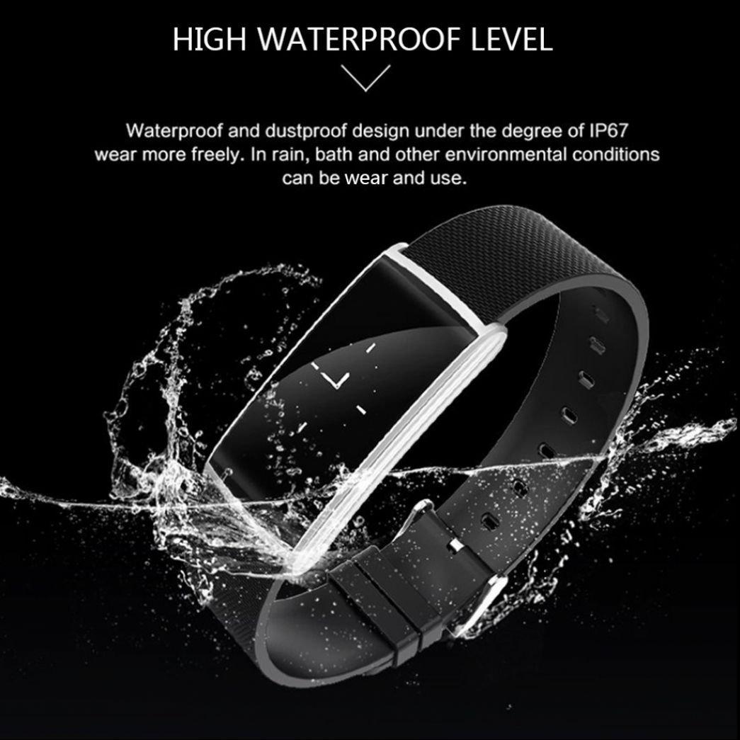 Pulsómetro Reloj Fitness Deportes reloj de pulsera Contador de ...