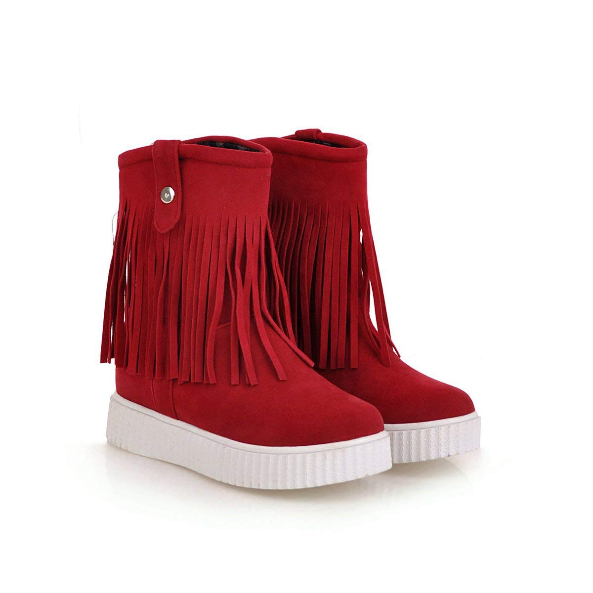 Damen Flache Ferse mit dicken unteren kurzen Ankle Stiefel Stiefel Stiefel 04e8de