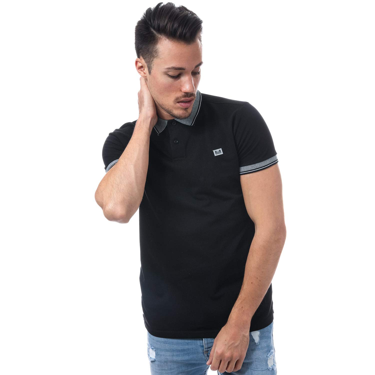Weekend Offender - Polo - para Hombre Negro Negro XX-Large: Amazon ...