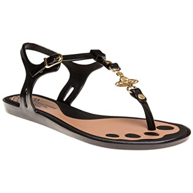 4b17af51d433f8 Womens Vivienne Westwood + Melissa Solar Orb Sandals - 7  Amazon.co ...