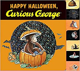 happy halloween curious george tabbed board book - Curious George Halloween Games