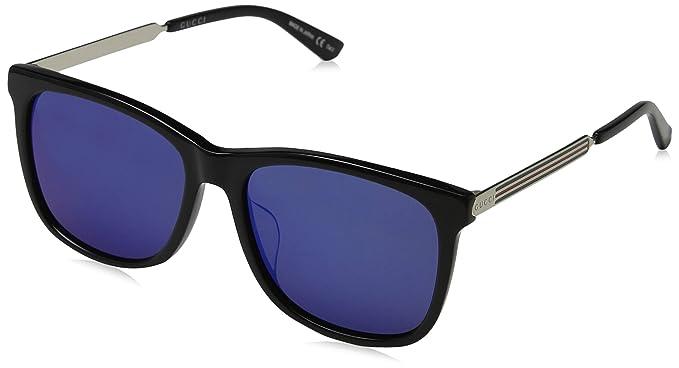 Gucci GG0078SK 001, Gafas de Sol para Hombre, Negro (Black ...