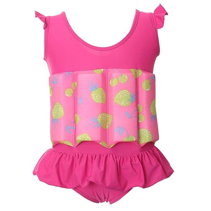 3db770e71a MEIHAOWEI Floating Buoyancy Kids Swimsuits Detachable Swimwear Siamese Swimming  Training Kids Swimming Float Suits Choice 1