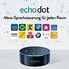 Amazon Echo Dot (2. Generation) Intelligenter Lautsprecher mit Alexa, Schwarz