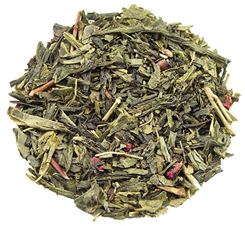 Bohemian Raspberry (Bohemian Raspberry Loose Leaf Natural Flavored Green Tea (16oz))