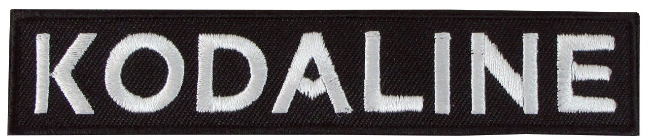 Kodaline Black /& White Patch Badge Iron Or Sew On 10cm