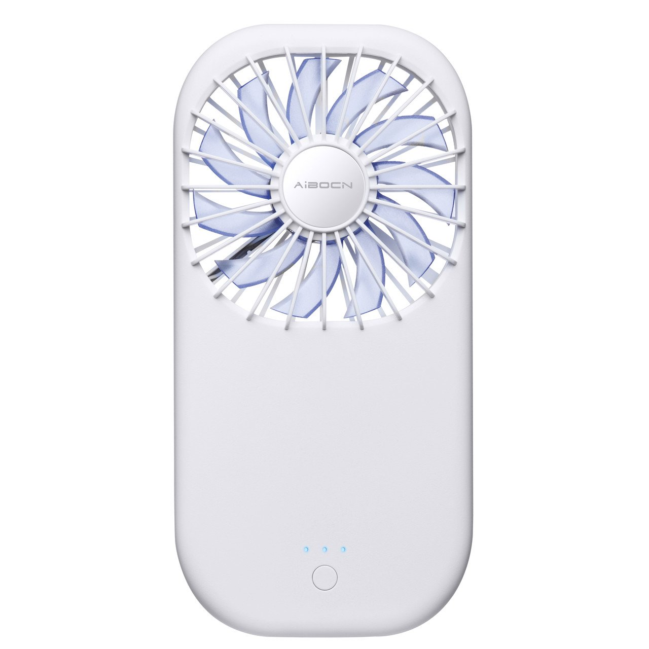 Aibocn Mini Handheld Fan with 3500mAh Rechargeable Power Bank Funtion Cooling Fan for Summer Travel, Camping and Outdoor by Aibocn (Image #1)