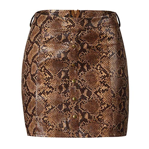 Womens Elastic Short Dress Winter Snake Print Stretch Bodycon Below Knee Evening Party Mini Skirt (Quicksilver Bedding Full)