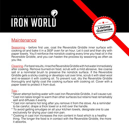"World Kitchen Coupon: Cast Iron Dutch Oven 10"" 3.5Qt By Iron World"