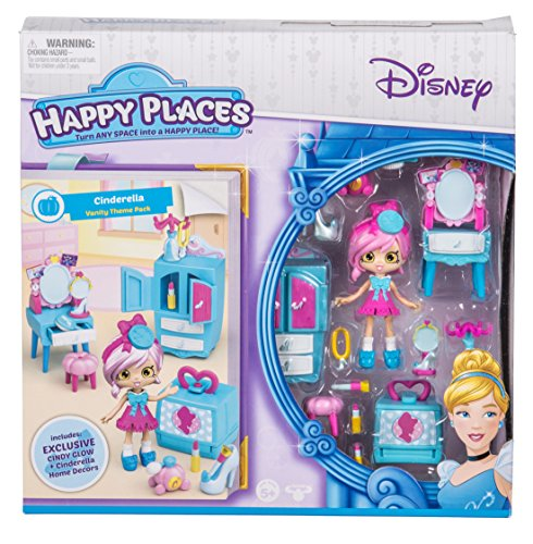 Happy Places Disney Season 1 Cinderella Vanity Theme Pack