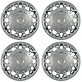 Hub-Caps for Select Buick Century (Pack of 4) 15 Inch Chrome Wheel Covers