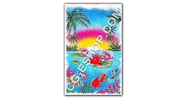 Toalla Playa Ligero Italia 100% algodón rizo 500 gr playa Tropici: Amazon.es: Hogar