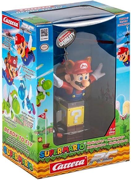 Carrera RC Super Mario (TM), Volando Mapache Mario, Multicolor: Amazon.es: Juguetes y juegos