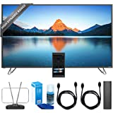 "Vizio 60"" 4K SmartCast M-Series Ultra HD HDR TV Home Theater Display (M60-D1) w/ TV Cut the Cord Bundle Includes, Durable HDTV & FM Antenna, Universal Screen Cleaner & 2x 6ft High Speed HDMI Cable"