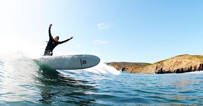 Back Screw Fiberglass Center Fin Plate Culprit Surf Longboard Surfboard Fin