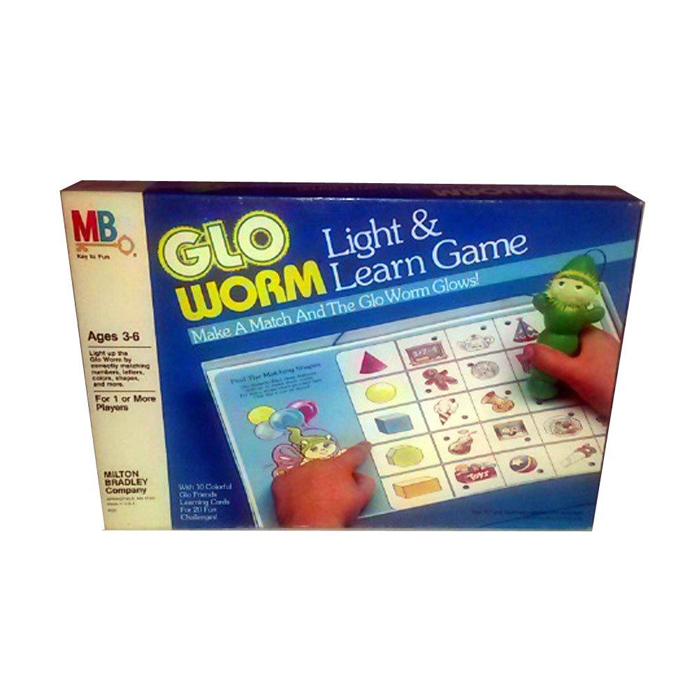 【即納&大特価】 1985 Hasbro Milton Bradley B00SOTCKK2 Glo Worm Light Milton & Learn Bradley Game B00SOTCKK2, 四川風担担麺トヨクニヤ:c64f9613 --- mrplusfm.net