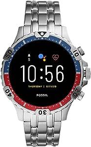 Fossil Connected Smartwatch Gen 5 para Hombre con pantalla táctil , altavoz, frecuencia cardíaca, GPS, NFC y notificaciones smartwatch