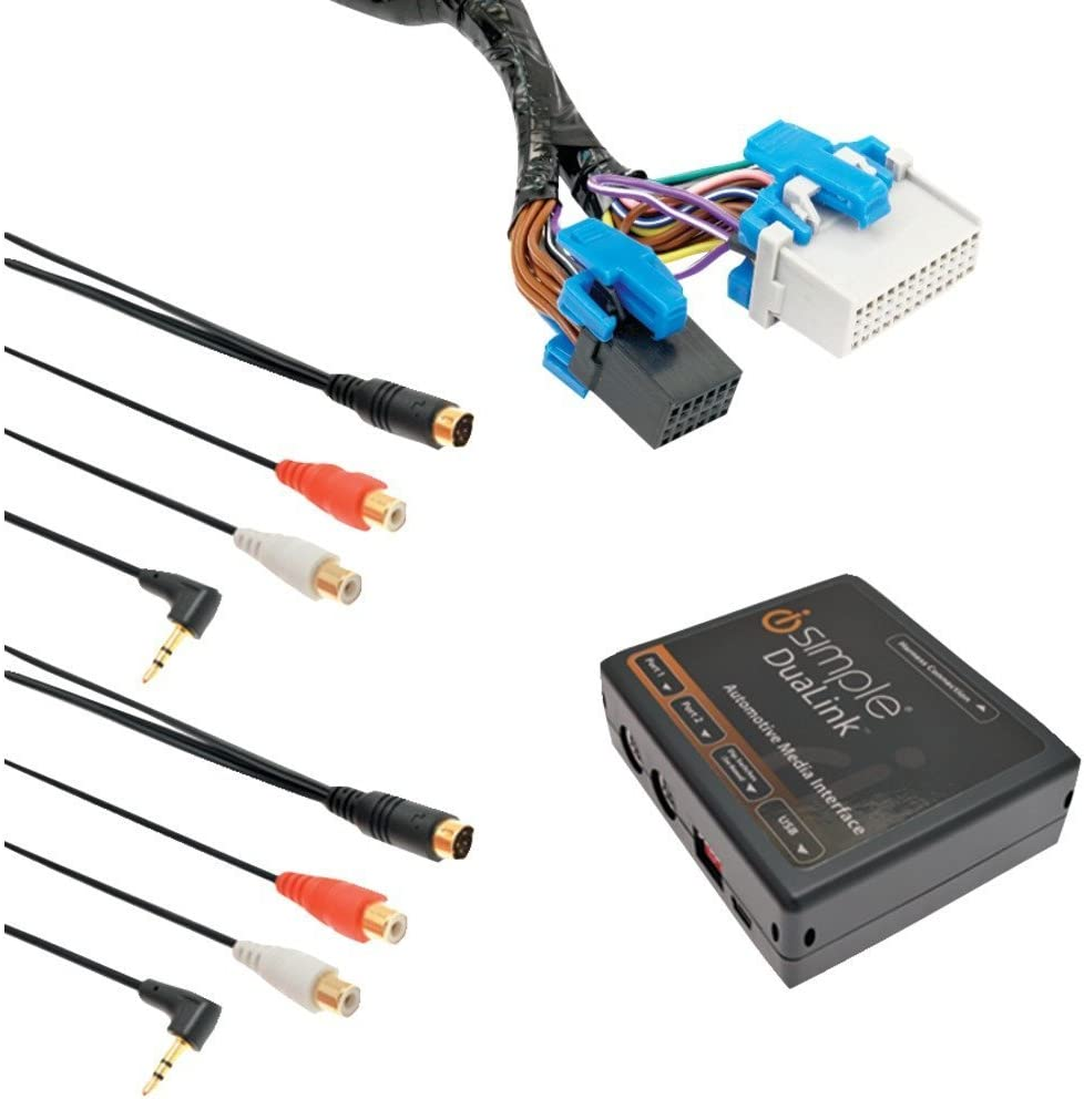 NEW iSimple Dual Auxiliary Audio input interface for select GM Vehicles ISGM535