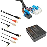 iSimple ISGM535 Automotive Dual Auxiliary Input Kit for Select GM Class II Radio Vehicles