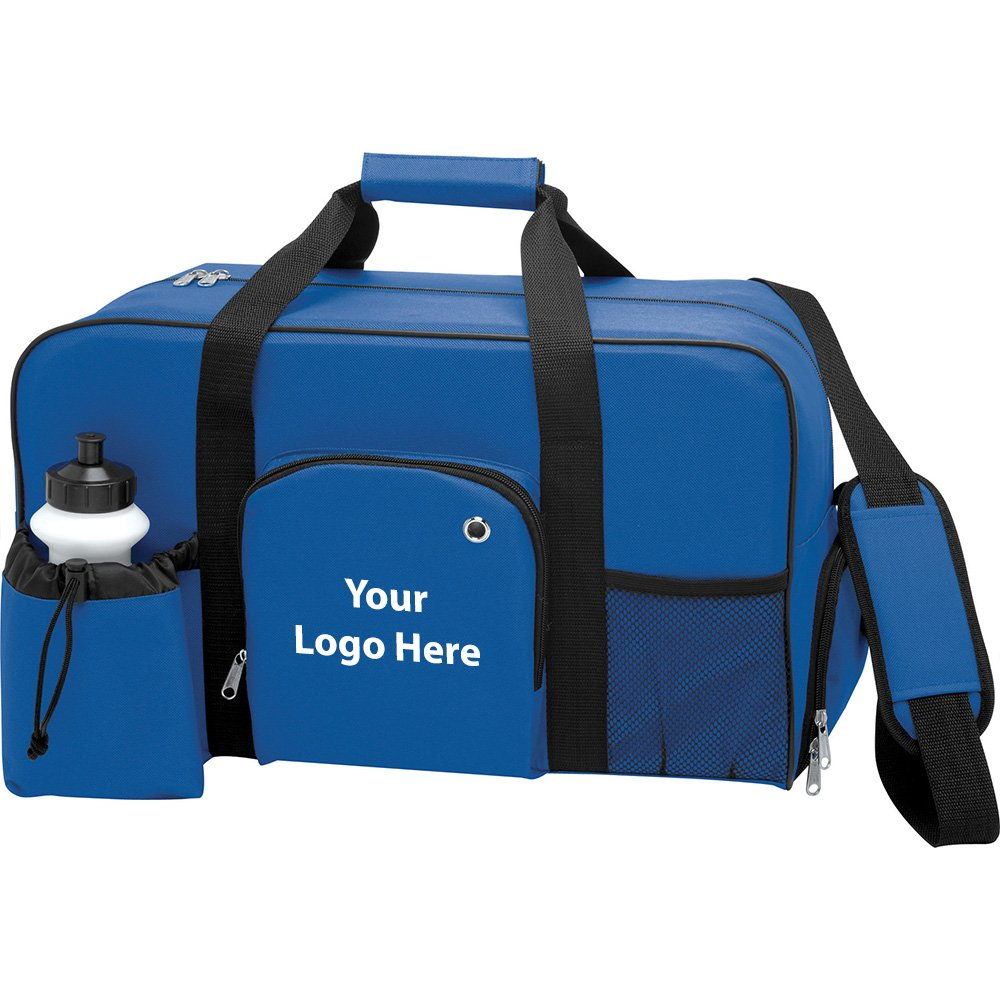 Weekender Deluxe 18.5'' Duffel Bag - 40 Quantity - $11.50 Each - PROMOTIONAL PRODUCT / BULK / BRANDED with YOUR LOGO / CUSTOMIZED by Sunrise Identity