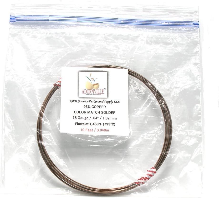 10 High-Copper Wire Solder 5 1 15 Feet 18 Gauge