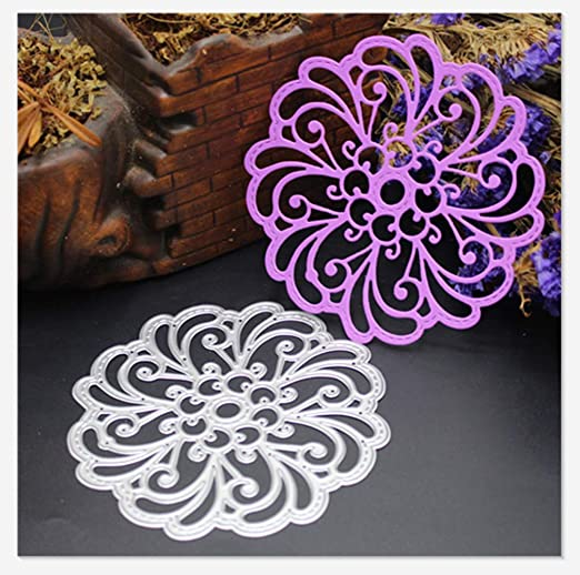 Flame Ring Shape Metal Cutting Dies Stencils for DIY Scrapbooking Album Cards  R
