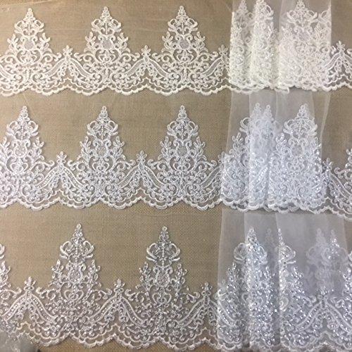 Ivory Lace Trim - 4