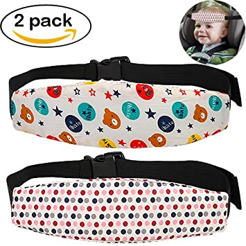 Amazon.com: Accmor 2 Pcs Infants and Baby Head Support, Safety Car ...