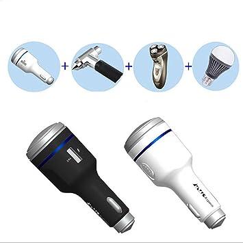 4 en 1 multifunción USB cargador de coche máquina de afeitar ...