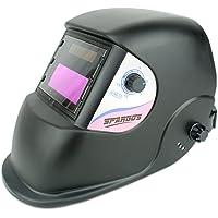 Spargos True Color Casco de soldadura con protección para los ojos y protección solar