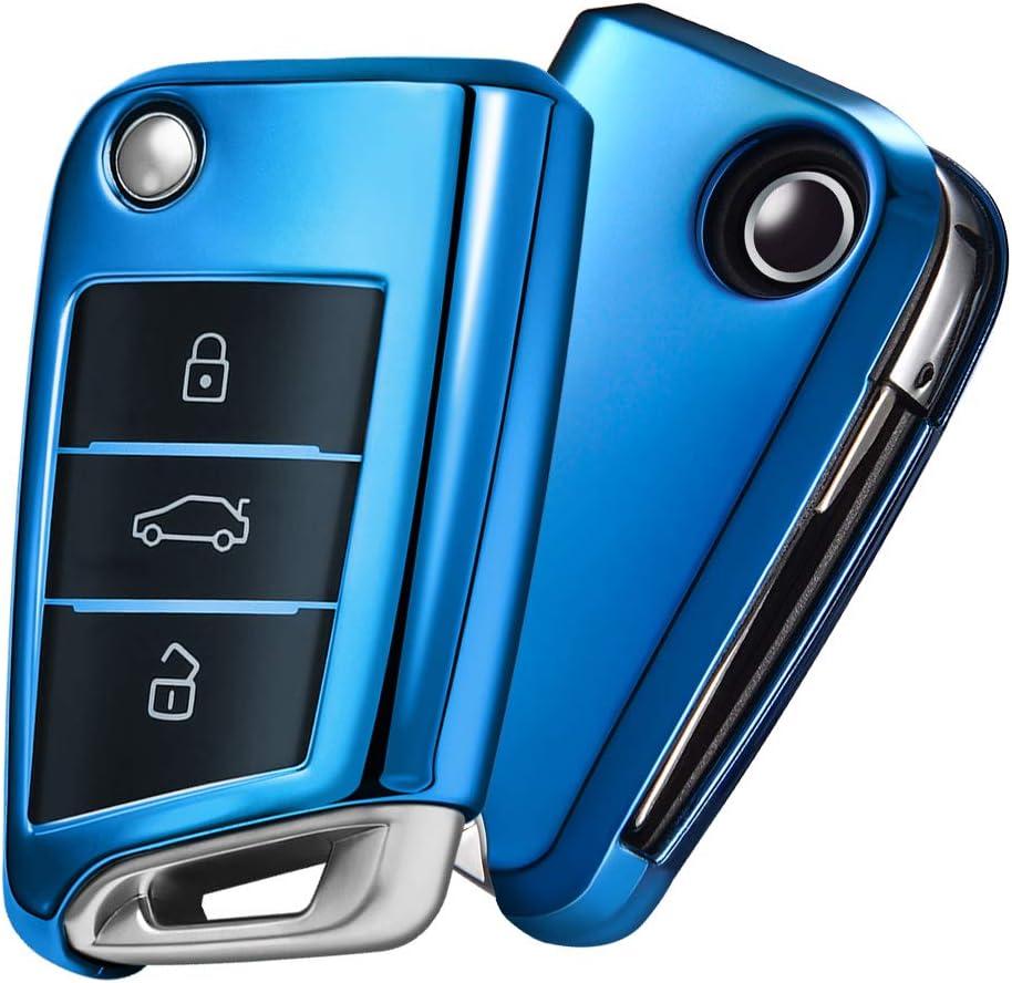 Oatsbasf Autoschlüssel Hülle Vw Vw Golf 7 Elektronik