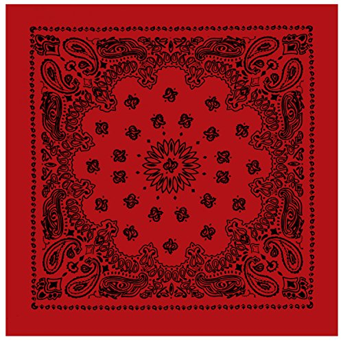 Rothco Trainmen Bandanas, Red, 27'' x 27''