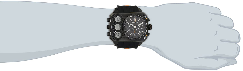 Amazon.com: Timberland Mens TBL_13673JSB_02S Ht3 Digital Chronograph 3 Hands Date Watch: Watches