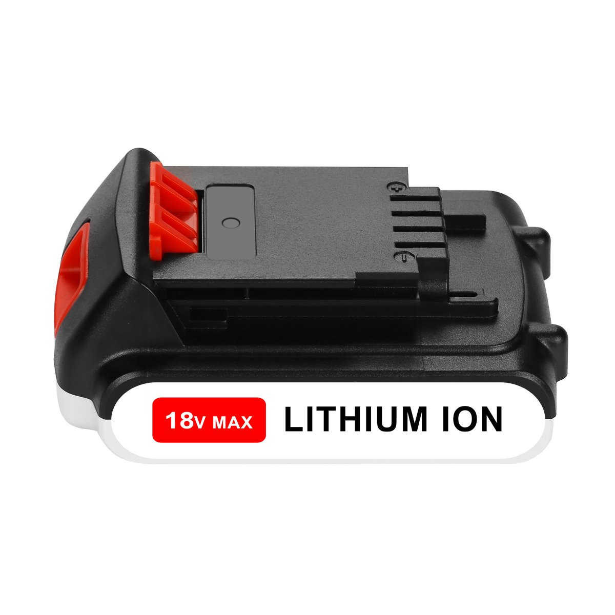 OPSON 18V 2,0Ah Lithium-ion Ersatz Akku f/ür Black /& Decker 18V BL2018 LBXR20 LBXR2020-OPE LB20 LBX20 BL2018-XJ GKC1825L GTC1850L20 STC1820 Werkzeugakkus