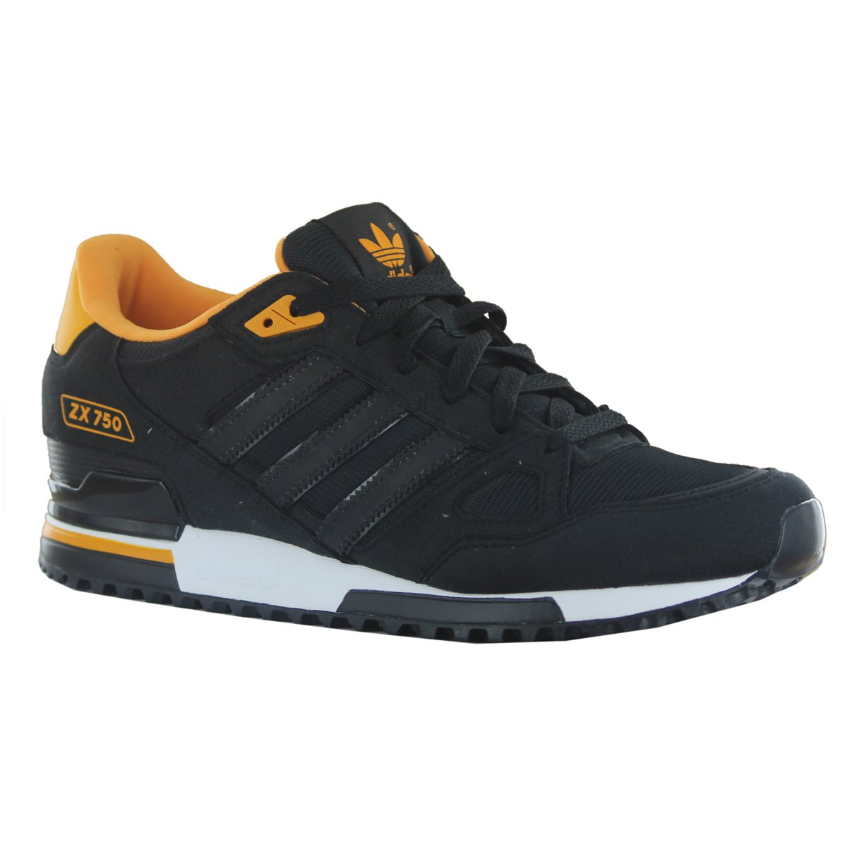 203894e12dc51 ... new arrivals adidas zx 750 black suede leather mens trainers size 8.5  uk amazon shoes bags