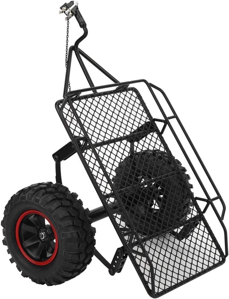 Accesorios de actualización de Marco de tolva de Remolque RC de Metal adecuados para el Modelo Axial TRX-4 RC Car