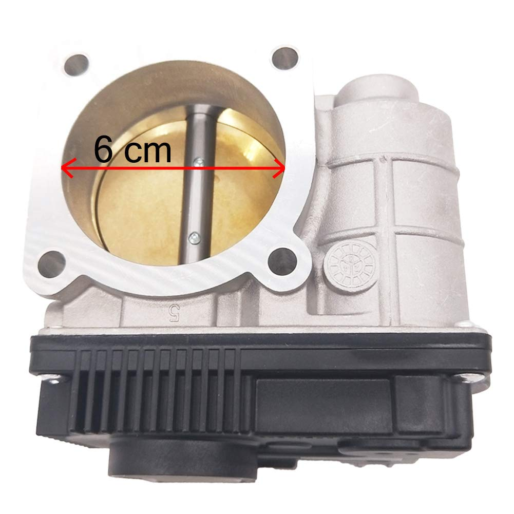 JESBEN Electronic Throttle Body With Sensor Assembly Fit For Nissan Altima Sentra 2.5L 2003 2004 2005 2006 X-Trail 2.5L 2005 16119AE013 16119-AE013