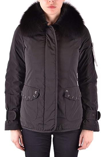 new product 5fe9c c6ab7 PEUTEREY Luxury Fashion Womens MCBI37481 Black Outerwear ...