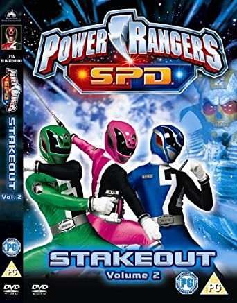 Power Rangers - Space Patrol Delta - Vol.2 Stakeout DVD ...