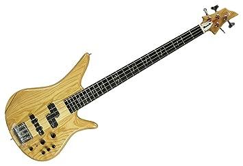 Marvel Api Pj - 4c 4 cuerdas de la guitarra bajo eléctrico activo/pasivo: Amazon.es: Instrumentos musicales